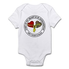 Part of my Heart - Afghanistan Infant Bodysuit