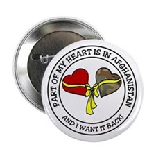 Part of my Heart - Afghanistan Button