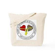 Part of my Heart - Afghanistan Tote Bag