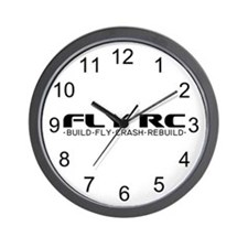 Fly RC Wall Clock