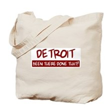 Detroit (been there) Tote Bag