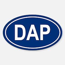 DAP Oval Decal