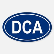 DCA Oval Decal
