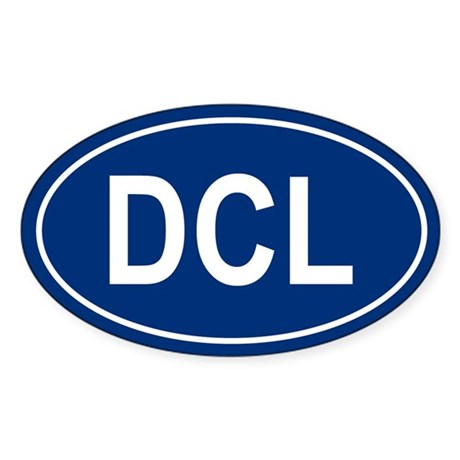 DCL Oval Sticker
