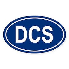 DCS Oval Decal