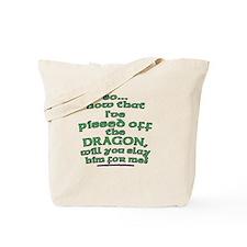 Dragon Slayer Joke Tote Bag