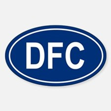 DFC Oval Decal