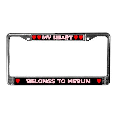 My Heart: Merlin (#002) License Plate Frame