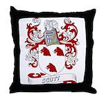 Scott Coat of Arms Throw Pillow