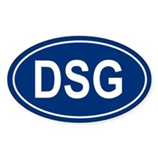 DSG Oval Decal