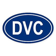 DVC Oval Bumper Stickers
