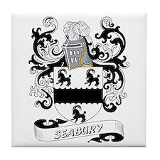 Seabury Coat of Arms Tile Coaster