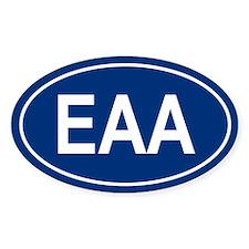EAA Oval Decal