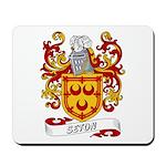 Seton Coat of Arms Mousepad