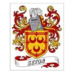 Seton Coat of Arms Small Poster