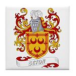 Seton Coat of Arms Tile Coaster