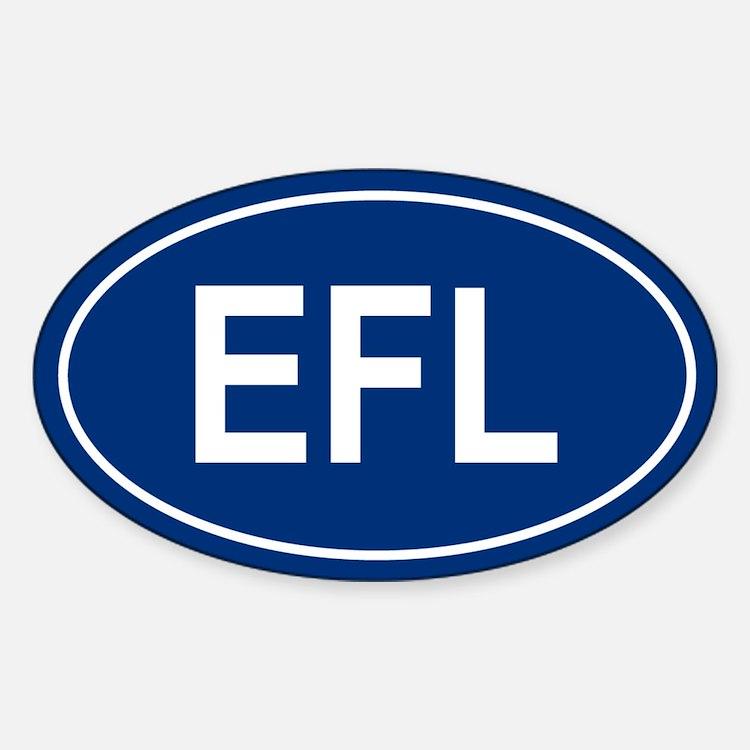 EFL Oval Decal