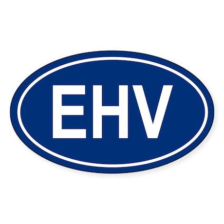 EHV Oval Sticker