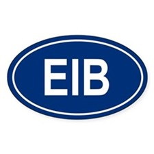 EIB Oval Decal