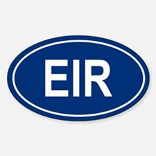 EIR Oval Decal