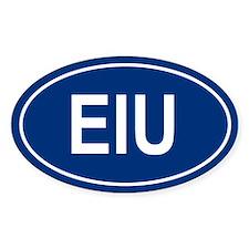 EIU Oval Bumper Stickers