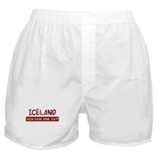 Iceland (been there) Boxer Shorts