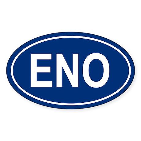 ENO Oval Sticker