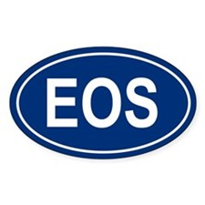 EOS Oval Decal