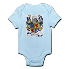 Sinclair Coat of Arms Infant Creeper