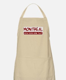 Montreal (been there) BBQ Apron