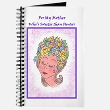 Sweeter than Flowers - Mother's Day or Bir Journal
