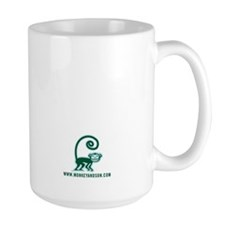 Monkey and Son Large Coffee Mug