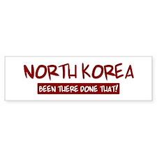 North Korea (been there) Bumper Bumper Sticker