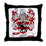 Smith Coat of Arms (Smith of  Throw Pillow