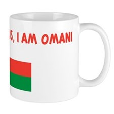 DONT BE JEALOUS I AM OMANI Mug