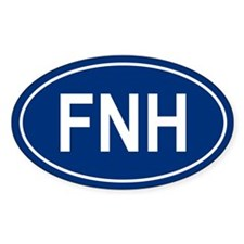 FNH Oval Decal