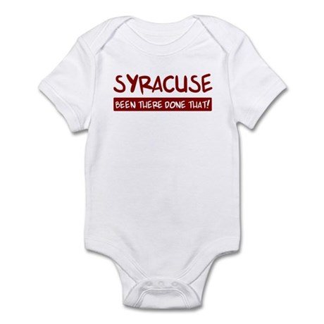 Syracuse (been there) Infant Bodysuit