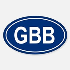 GBB Oval Decal