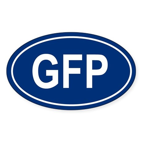 GFP Oval Sticker