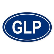 GLP Oval Decal