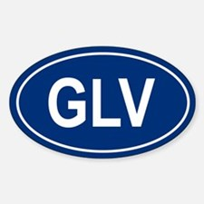GLV Oval Decal