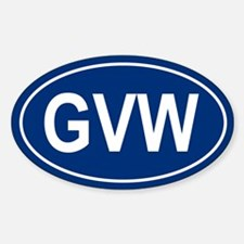 GVW Oval Decal