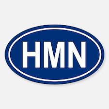 HMN Oval Decal