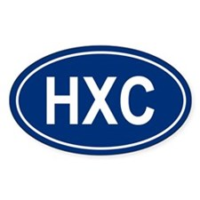 HXC Oval Decal
