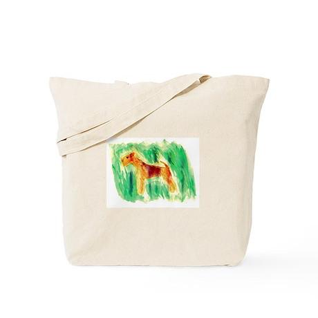 Watercolor Lakeland Tote Bag