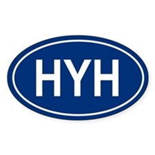 HYH Oval Decal