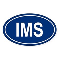 IMS Oval Decal