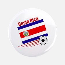 "Costa Rica Soccer Team 3.5"" Button (100 pack)"