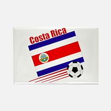 Costa Rica Soccer Team Rectangle Magnet (100 pack)