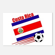 Costa Rica Soccer Team Postcards (Package of 8)